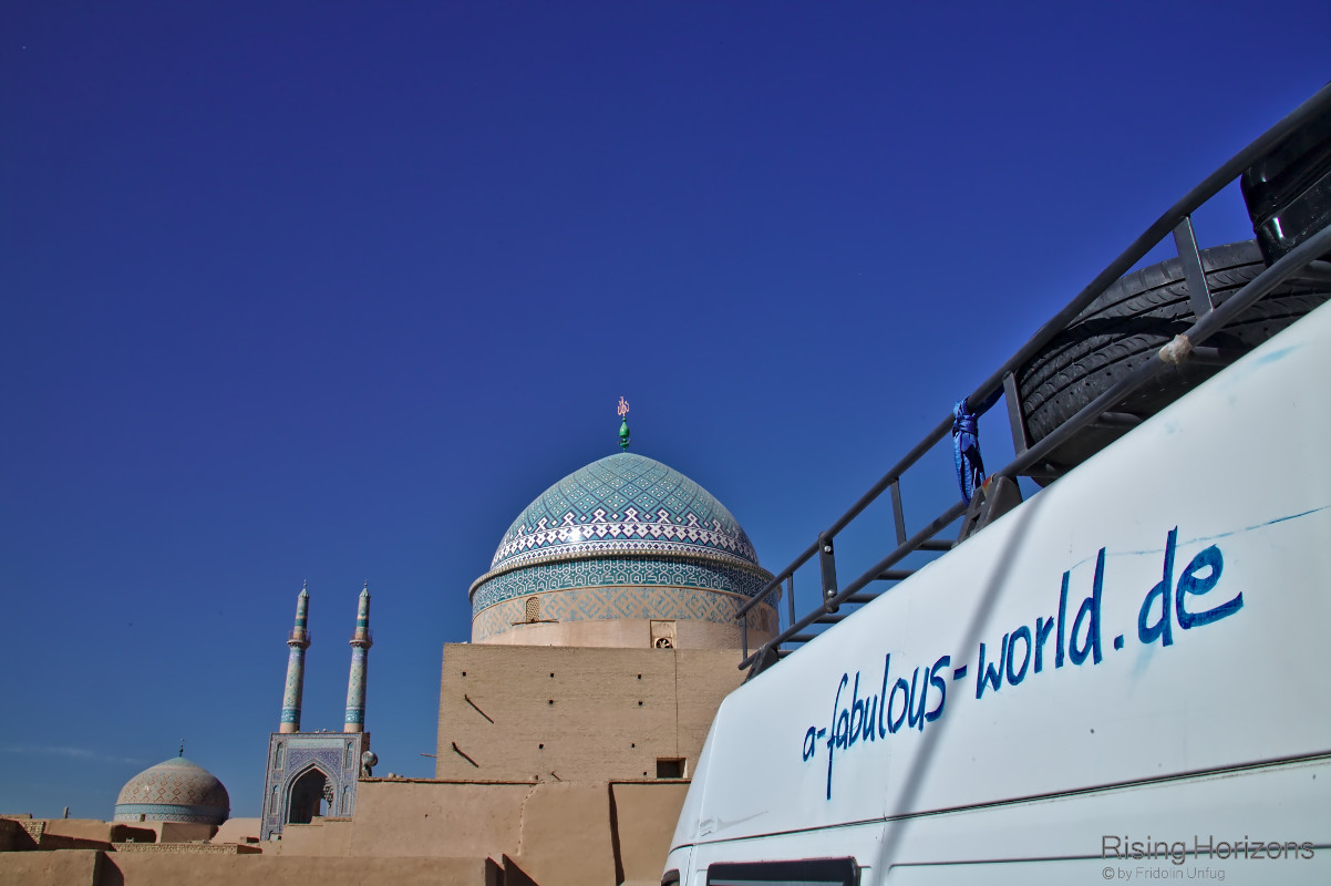 Iran: what a fabulous world in Yazd